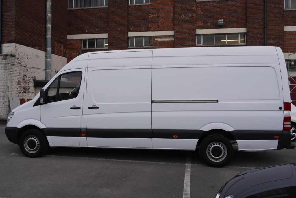 Mercedes Sprinter Van High Roof 2016 Mercedes Benz